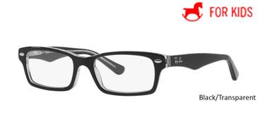 Black/Transparent  RayBan RB1530 Eyeglasses