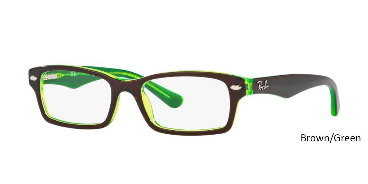 Brown/Green RayBan RB1530 Eyeglasses