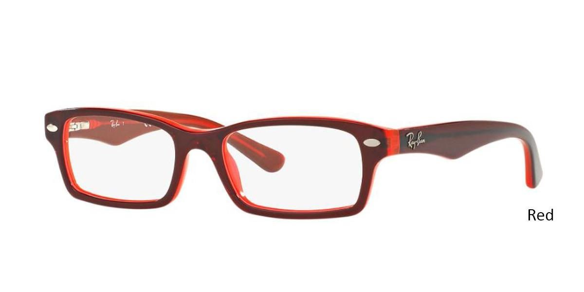 Red RayBan RB1530 Eyeglasses