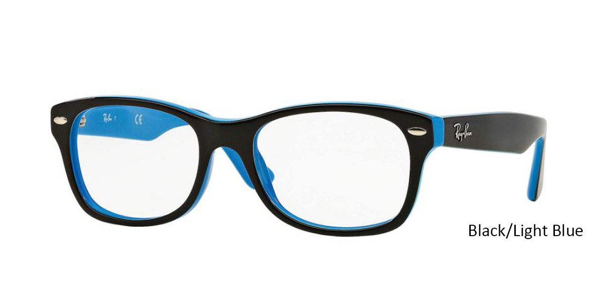 Black/Light RayBan RB1528 Eyeglasses - Teenager