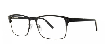 Black Comfort Flex Ricky Eyeglasses.
