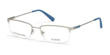 Matte Light Nickeltin Guess GU50005 Eyeglasses