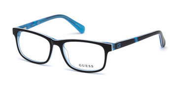 Black/other Guess GU9179 Eyeglasses - Teenager