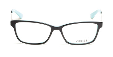 Black/other Guess GU2538-F Eyeglasses