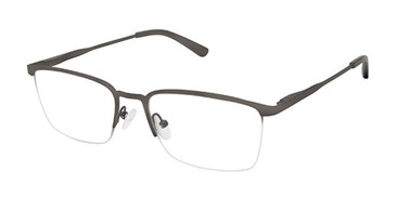 Black Superflex Titan SF-1129T Eyeglasses.