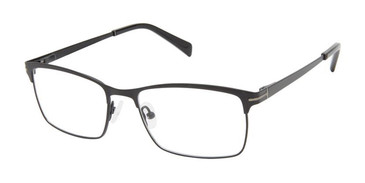 Black Superflex Titan SF-1125T Eyeglasses.