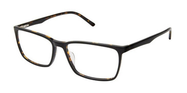 Black Tortoise Superflex SF-581 Eyeglasses.