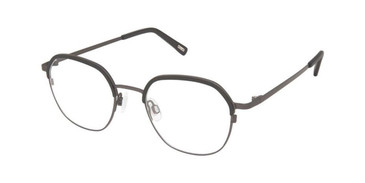 Charcoal Black Kliik Denmark K-684 Eyeglasses - Teenager