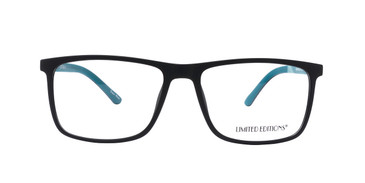 Aqua/Black Limited Edition LTD T1002 Eyeglasses