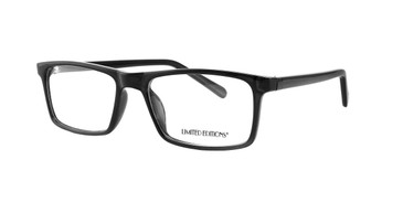 Black Limited Edition LTD 2241 Eyeglasses - Teenager