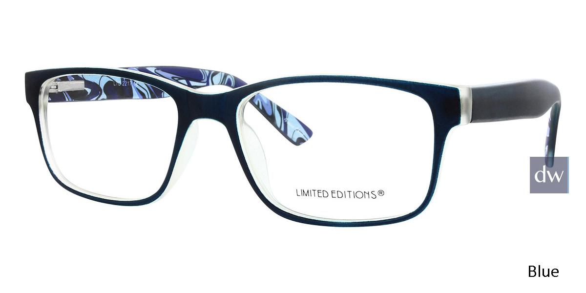 Blue Limited Edition LTD 2217 Eyeglasses