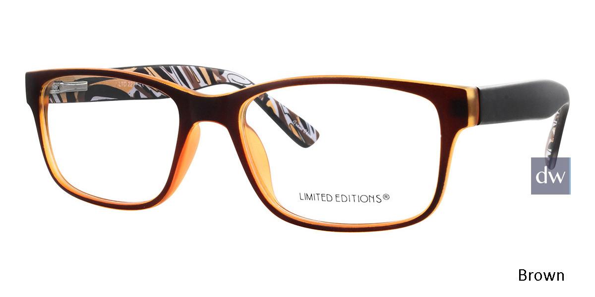 Brown Limited Edition LTD 2217 Eyeglasses