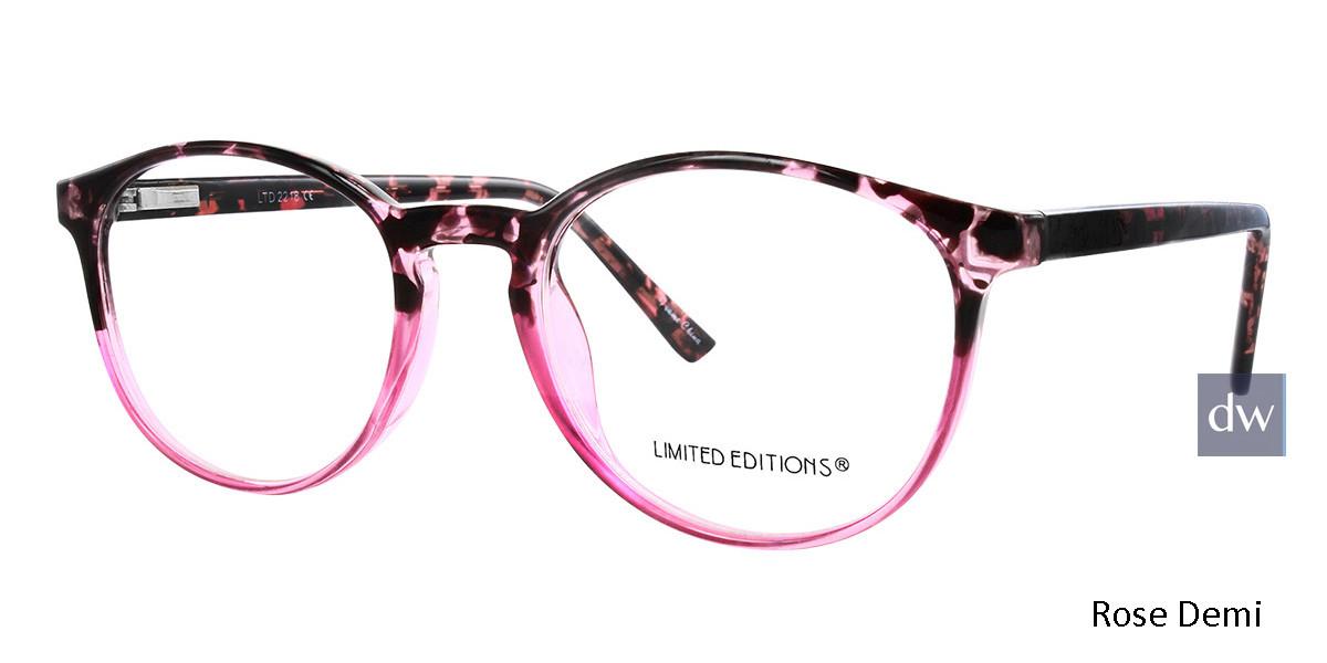 Rose Demi Limited Edition LTD 2218 Eyeglasses - Teenager