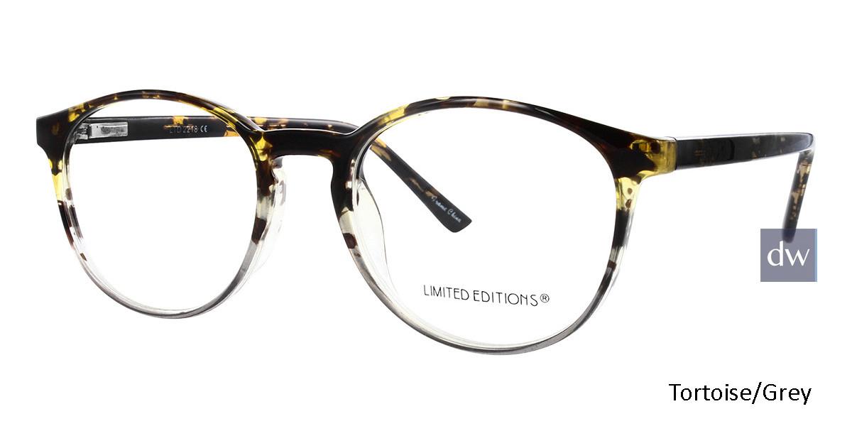 Tortoise/Grey Limited Edition LTD 2218 Eyeglasses - Teenager