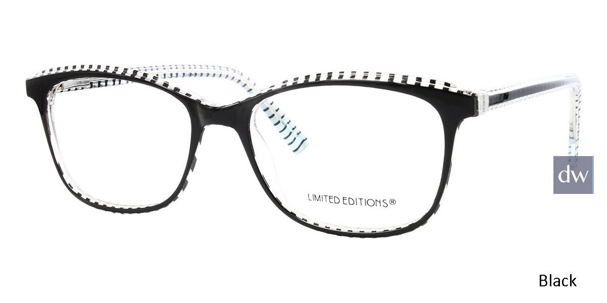 Black Limited Edition LTD 2219 Eyeglasses
