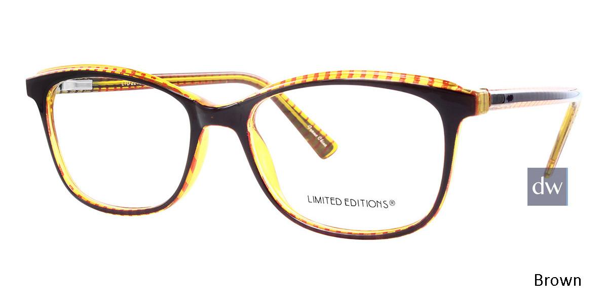 Brown Limited Edition LTD 2219 Eyeglasses