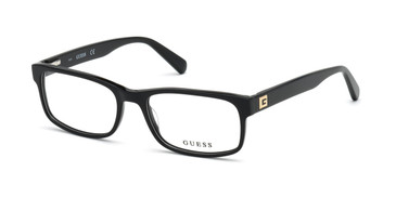 Shiny Black Guess GU1993 Eyeglasses