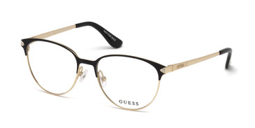 Black/other Guess GU2633-S Eyeglasses