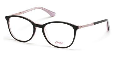 Black/Crystal Candie's Eyewear CA0142 Eyeglasses