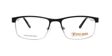 Black STACY ADAMS 1103 Eyeglasses