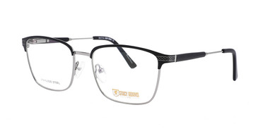 Black/Gunmetal STACY ADAMS 1114 Eyeglasses