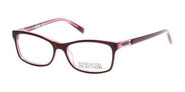 Matte Violet Kenneth Cole Reaction KC0781 Eyeglasses