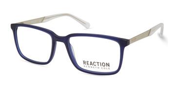 Matte Blue Kenneth Cole Reaction KC0821 Eyeglasses