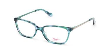 Light Green Candie's Eyewear CA0155 Eyeglasses