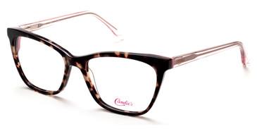 Dark Havana Candie's Eyewear CA0175 Eyeglasses