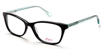 Shiny Black Candie's Eyewear CA0176 Eyeglasses