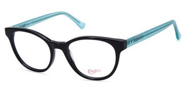 Shiny Black Candie's Eyewear CA0177 Eyeglasses