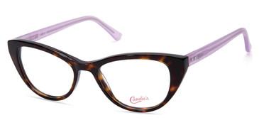 Dark Havana Candie's Eyewear CA0178 Eyeglasses