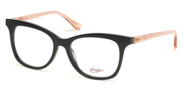 Shiny Black Candie's Eyewear CA0180 Eyeglasses