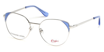 Shiny Light Nickeltin Candie's Eyewear CA0181 Eyeglasses