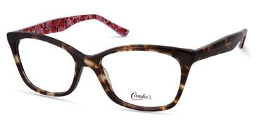 Dark Havana Candie's Eyewear CA0183 Eyeglasses