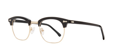 Black Brooklyn Heights Ron Eyeglasses