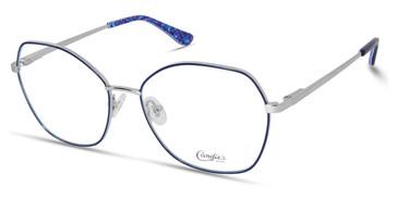Shiny Blue Candie's Eyewear CA0185 Eyeglasses