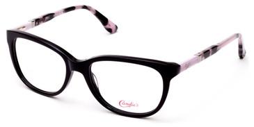 Shiny Black Candie's Eyewear CA0508 Eyeglasses