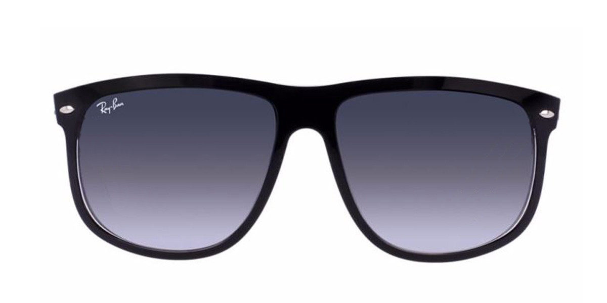 Black/Transparent RayBan RB4147 - Black Sunglasses