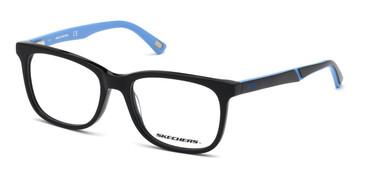 Shiny Black Skechers SE1166 Eyeglasses