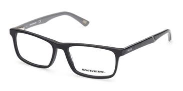 Matte Black Skechers SE1169 Eyeglasses