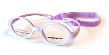 Matte Lilac Skechers SE1171 Eyeglasses