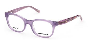 Violet Skechers SE1646 Eyeglasses - Teenager