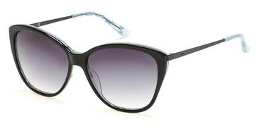 Black/Gradient Smoke Candie's Eyewear CA1026 Sunglasses