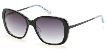 Black/Gradient Smoke Candie's Eyewear CA1027 Sunglasses