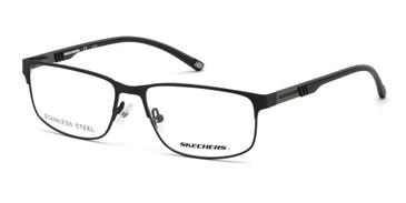 Matte Black Skechers SE3270 Eyeglasses