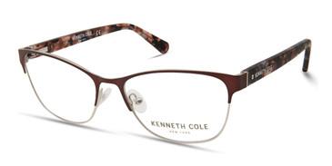 Shiny Light Brown Kenneth Cole New York KC0311 Eyeglasses