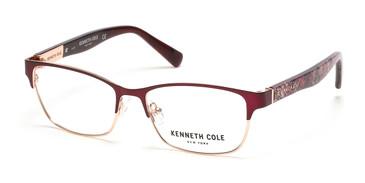 Matte Bordeaux Kenneth Cole New York KC0317 Eyeglasses