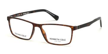 Dark Havana Kenneth Cole New York KC0318 Eyeglasses