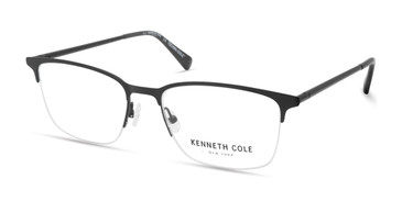 Matte Black Kenneth Cole New York KC0322 Eyeglasses